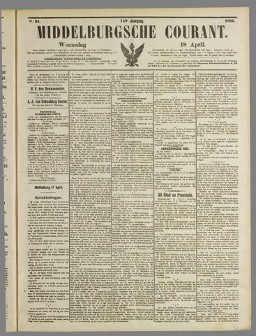 Middelburgsche Courant 1906-04-18