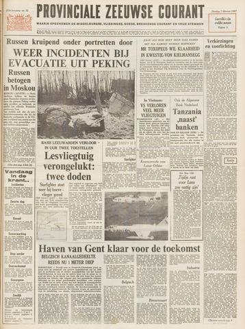 Provinciale Zeeuwse Courant 1967-02-07