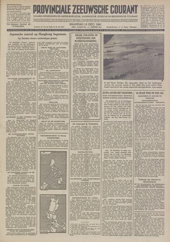 Provinciale Zeeuwse Courant 1941-12-15