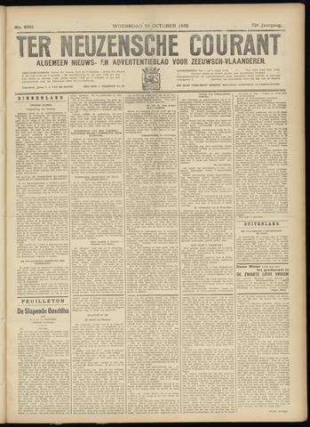 Ter Neuzensche Courant. Algemeen Nieuws- en Advertentieblad voor Zeeuwsch-Vlaanderen / Neuzensche Courant ... (idem) / (Algemeen) nieuws en advertentieblad voor Zeeuwsch-Vlaanderen 1932-10-19
