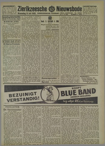 Zierikzeesche Nieuwsbode 1932-07-13