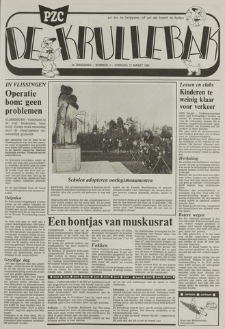 Provinciale Zeeuwse Courant katern Krullenbak (1981-1999) 1985-03-12