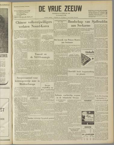 de Vrije Zeeuw 1958-02-20