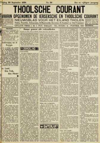 Ierseksche en Thoolsche Courant 1938-09-30