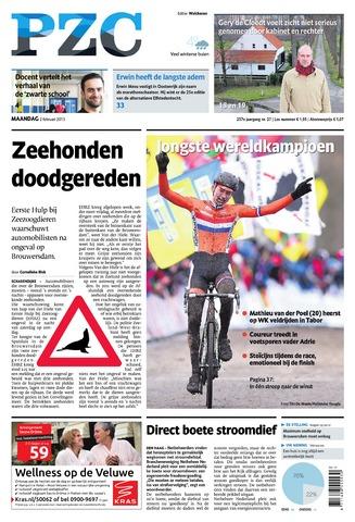 Provinciale Zeeuwse Courant 2015-02-02