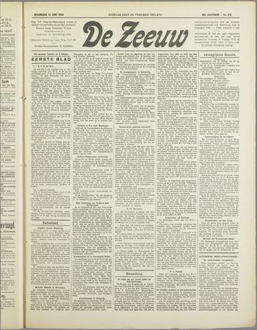 De Zeeuw. Christelijk-historisch nieuwsblad voor Zeeland 1934-06-13