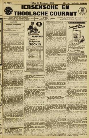 Ierseksche en Thoolsche Courant 1926-12-10