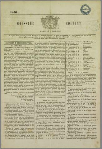 Goessche Courant 1850-01-07