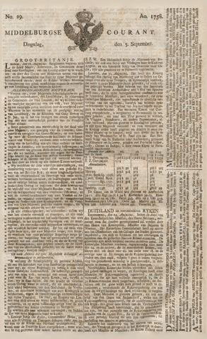 Middelburgsche Courant 1758-09-05
