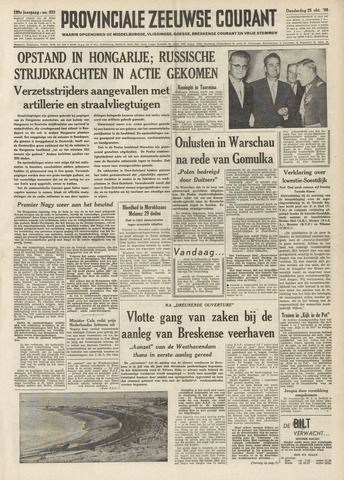 Provinciale Zeeuwse Courant 1956-10-25