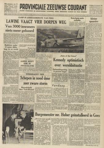 Provinciale Zeeuwse Courant 1962-01-12