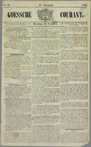 Goessche Courant 1861-11-25