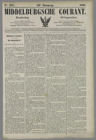 Middelburgsche Courant 1888-09-20