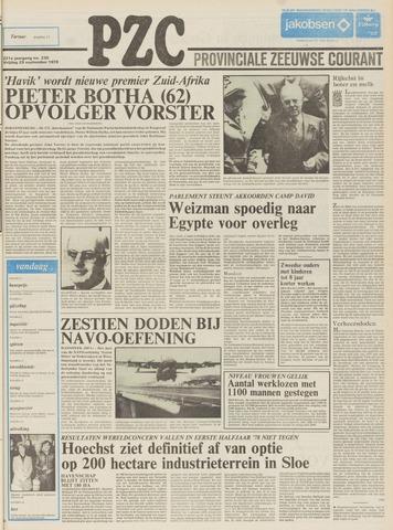 Provinciale Zeeuwse Courant 1978-09-29