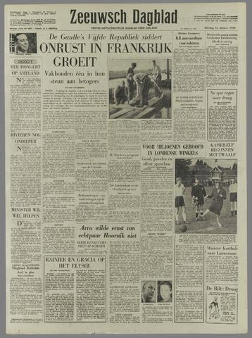 Zeeuwsch Dagblad 1959-10-13