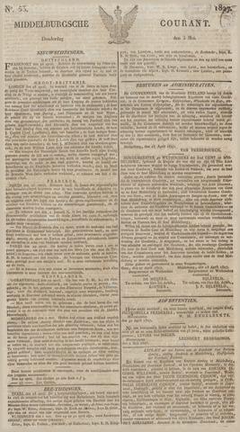 Middelburgsche Courant 1827-05-03