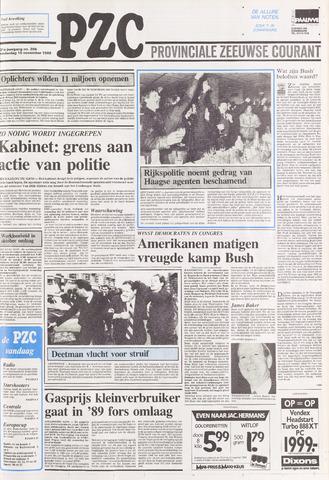 Provinciale Zeeuwse Courant 1988-11-10