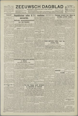 Zeeuwsch Dagblad 1949-11-07