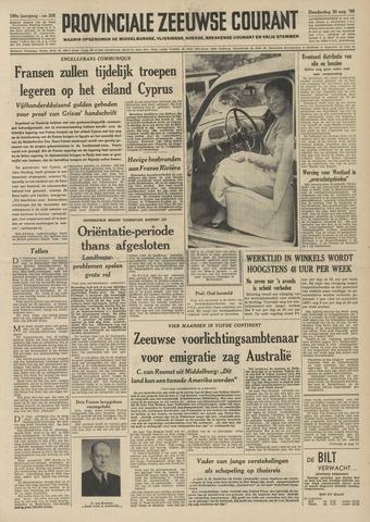 Provinciale Zeeuwse Courant 1956-08-30