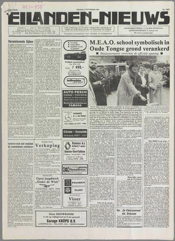 Eilanden-nieuws. Christelijk streekblad op gereformeerde grondslag 1985-11-15