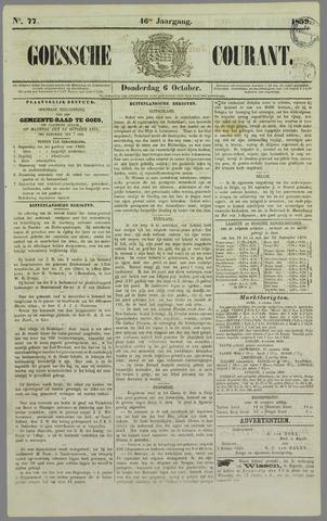 Goessche Courant 1859-10-06