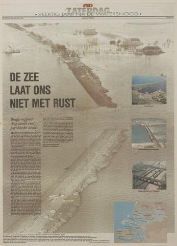 Watersnood documentatie 1953 - kranten 1993-01-30