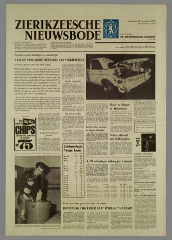 Zierikzeesche Nieuwsbode 1972-11-30
