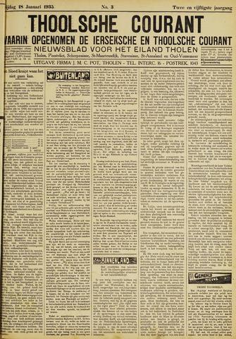 Ierseksche en Thoolsche Courant 1935-01-18