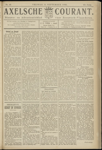 Axelsche Courant 1925-09-11