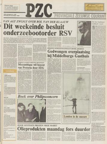 Provinciale Zeeuwse Courant 1980-11-29
