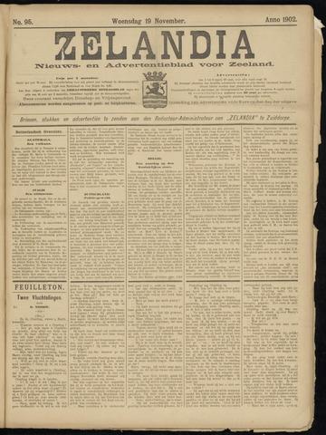 Zelandia. Nieuws-en advertentieblad voor Zeeland | edities: Het Land van Hulst en De Vier Ambachten 1902-11-19