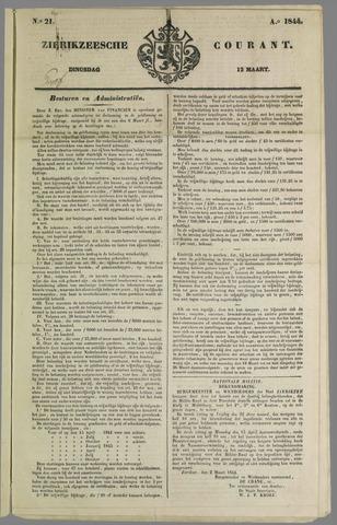 Zierikzeesche Courant 1844-03-12