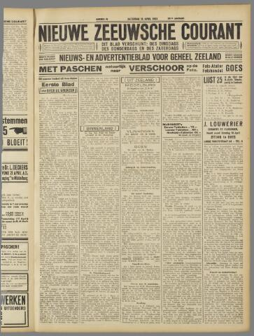 Nieuwe Zeeuwsche Courant 1933-04-15