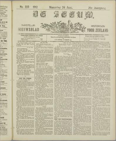 De Zeeuw. Christelijk-historisch nieuwsblad voor Zeeland 1912-06-24