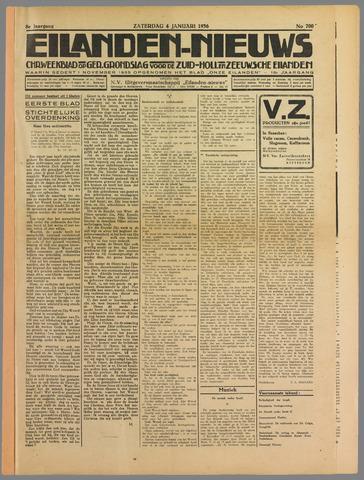 Eilanden-nieuws. Christelijk streekblad op gereformeerde grondslag 1936-01-04