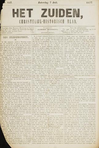 Het Zuiden, Christelijk-historisch blad 1877-07-07