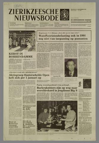 Zierikzeesche Nieuwsbode 1983-12-27
