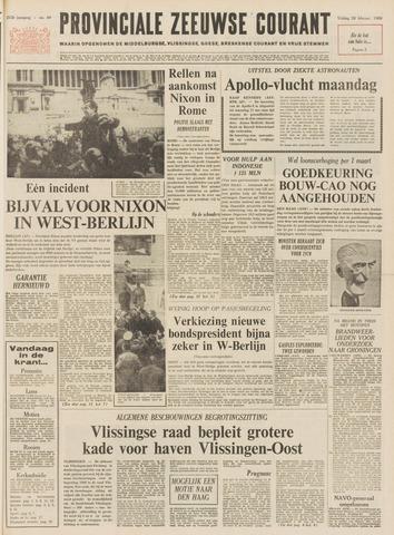 Provinciale Zeeuwse Courant 1969-02-28