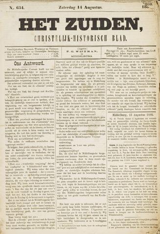 Het Zuiden, Christelijk-historisch blad 1880-08-14