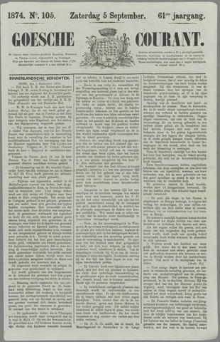 Goessche Courant 1874-09-05