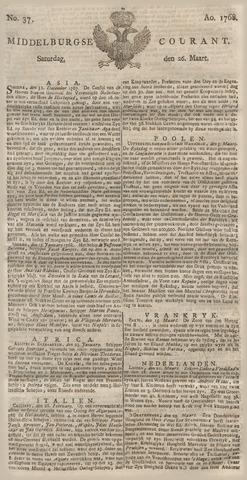 Middelburgsche Courant 1768-03-26