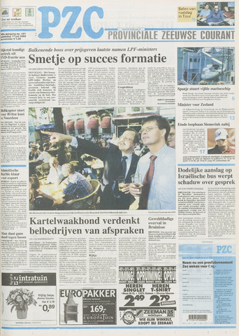 Provinciale Zeeuwse Courant 2002-07-17