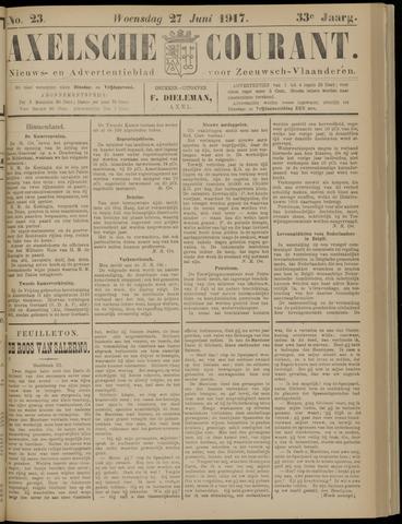 Axelsche Courant 1917-06-27
