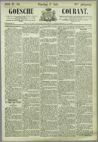 Goessche Courant 1906-07-17