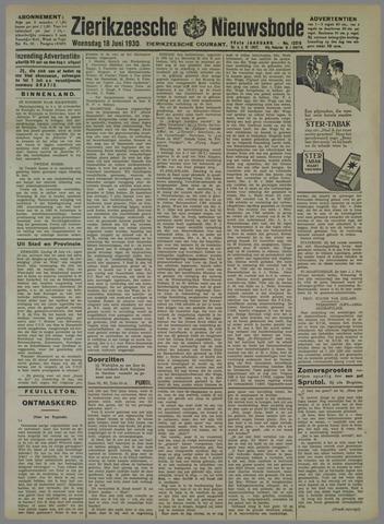 Zierikzeesche Nieuwsbode 1930-06-18