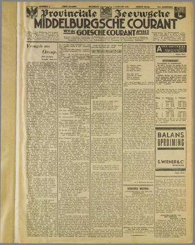 Middelburgsche Courant 1938
