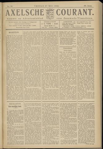 Axelsche Courant 1932-05-27