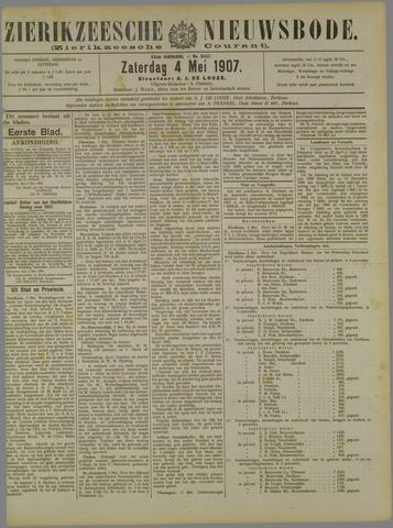 Zierikzeesche Nieuwsbode 1907-05-04