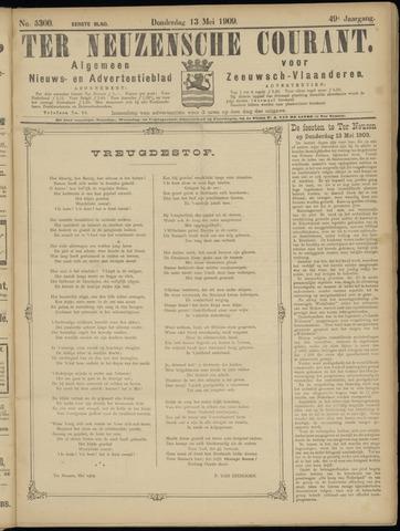 Ter Neuzensche Courant. Algemeen Nieuws- en Advertentieblad voor Zeeuwsch-Vlaanderen / Neuzensche Courant ... (idem) / (Algemeen) nieuws en advertentieblad voor Zeeuwsch-Vlaanderen 1909-05-13