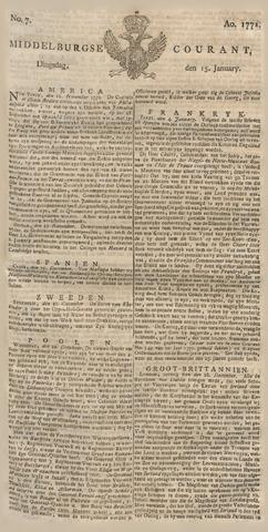 Middelburgsche Courant 1771-01-15